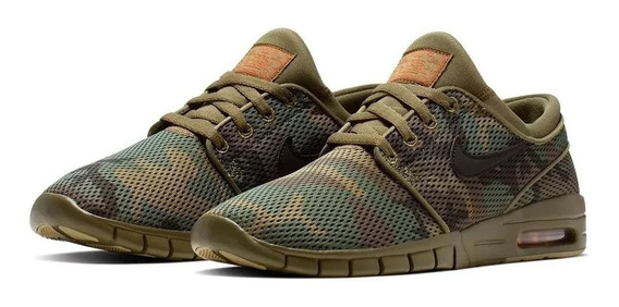 Zapatillas Nike Sb Stefan Janoski Max Camo Camufladas