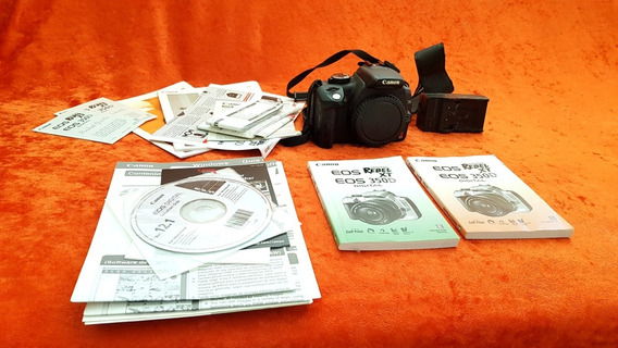Camera Canon Eos Rebel + Lentes