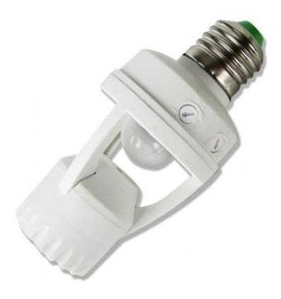 Soquete Com Sensor De Presença 360° Bocal Lâmpada E27*