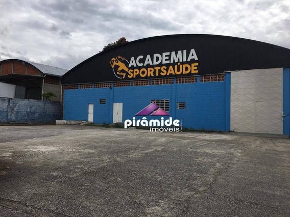 Galpão Para Alugar, 800 M² Por R$ 13.000,00/mês - Palmeiras De São José - São José Dos Campos/sp - Ga0131