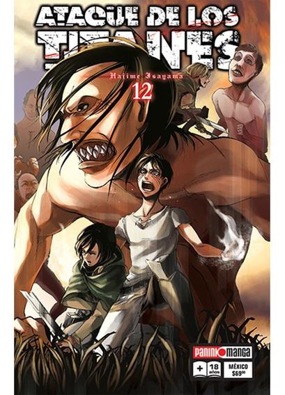 Panini Manga Ataque De Los Titanes Hajime Isayama