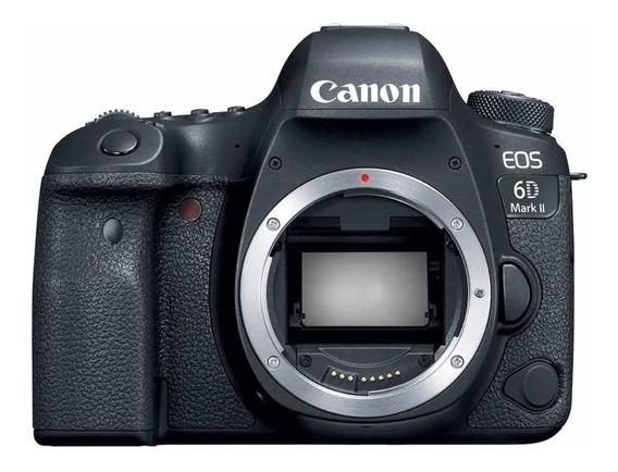 Câmera Canon Eos 6d Mark Ii - Só O Corpo
