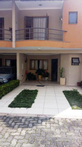 Sobrado Com 3 Dormitórios À Venda, 132 M² Por R$ 617.000,00 - Vila Pires - Santo André/sp - So0834