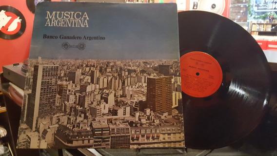Musica Argentina Banco Ganadero Argentino Lp Disco Vinilo Ex