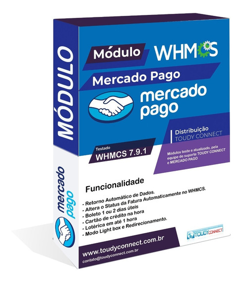 Módulo Whmcs Mercado Pago V.7.9.1