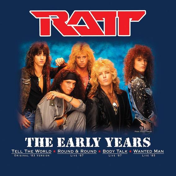 Ratt The Early Years Vinilo Color Lp Single Nuevo Cerrado