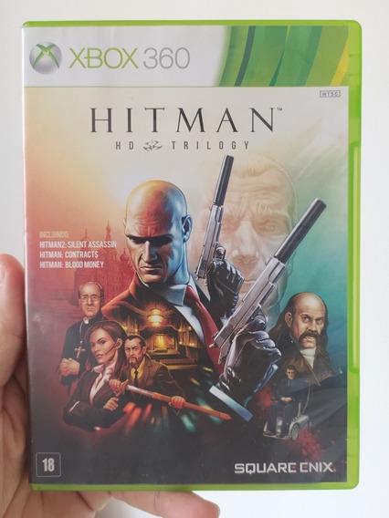 Jogo Hitman Hd Trilogy Original Mídia Física Xbox 360