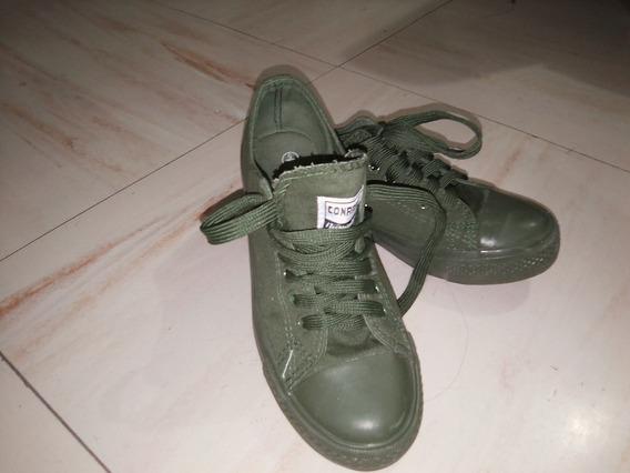 Tenis Conamore Verde Militar
