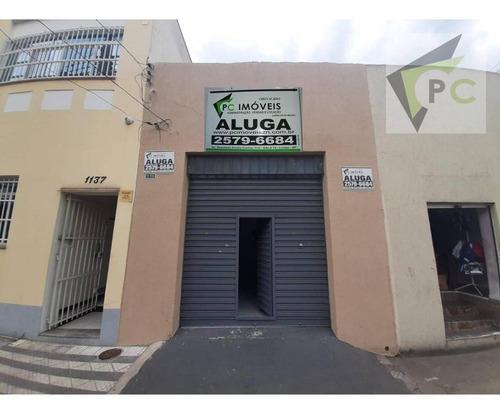 Imagem 1 de 9 de Salão Para Alugar, 64 M² Por R$ 2.000/mês - Bom Retiro - São Paulo/sp - Sl0009