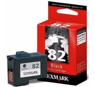 Cartucho Lexmark #82 Negro - Alto Rendimiento