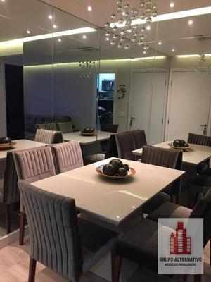 Apartamento Com 2 Dormitórios À Venda, 48 M² Por R$ 248.000 - Centro - Guarulhos/sp - Ap1049