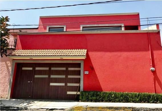 Casa En Renta, Oficina Silenciosa, El Mirador, Naucalpan, Edo Mex