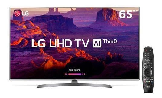 Smart Tv 4k Lg, 65, Uhd, Ai, 4 Hdmi, 2 Usb, Wi-fi Integrado