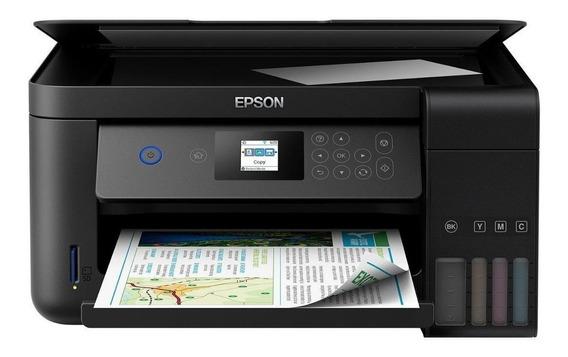 Impressora Multifuncional Epson Ecotank L4160 Com Wi-fi + Nf