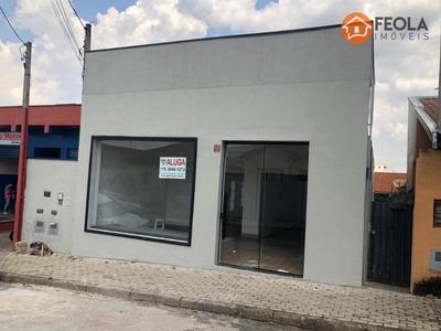 Salão Para Alugar, 175 M² Por R$ 2.600/mês - Jardim Girassol - Americana/sp - Sl0260