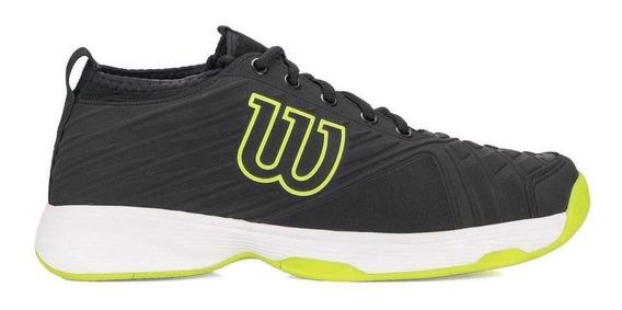 Tenis Wilson Pro Open Masculino Preto / Amarelo