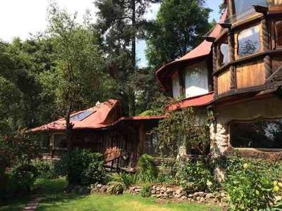 Renta Casa En Medio Del Bosque. Km30
