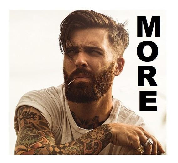 Incrementa Estimula Crecimiento Barba More Comprimidos 3 Env