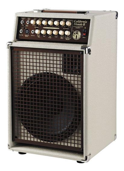 Amplificador De Guitarra Acustica Swr California Blonde