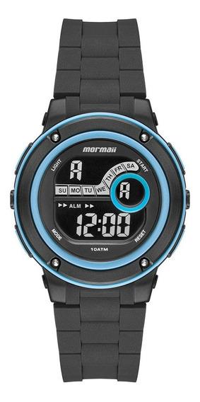 Relógio Mormaii Acqua Masculino Preto Mo8740ab/8a
