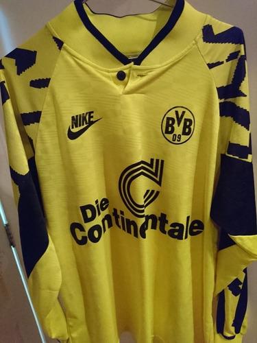 horno Perth Blackborough no relacionado  Camisa Borussia Dortmund Nike Anos 90 Raridade Alemanha Ml | Mercado Livre