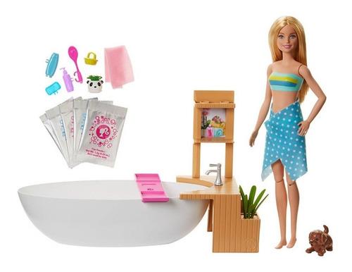 Barbie Baño De Espuma Mattel Original Entrega Inmediata