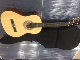 Guitarra Acustica Con Estuche