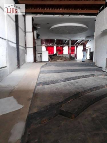 Imagem 1 de 8 de Salão Comercial 380m². Tatuapé - Praça Silvio Romero - Sl0003