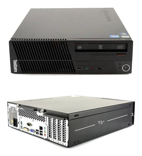 Imagen 1 de 4 de Pc Computadora Torre I3 8gb 1tb Dell Hp Lenovo M71e