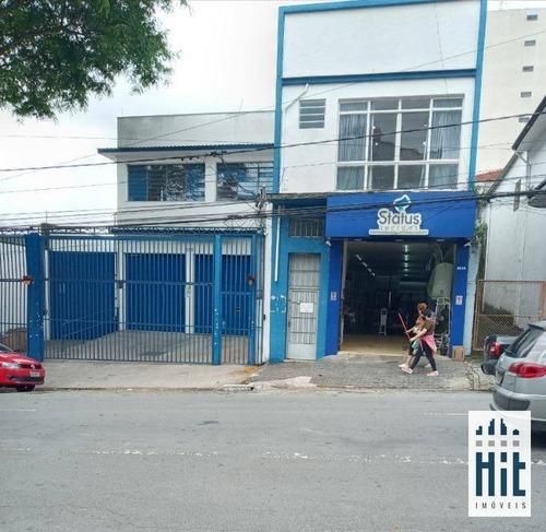 Prédio À Venda, 580 M² Por R$ 2.128.000,00 - Ipiranga - São Paulo/sp - Pr0025