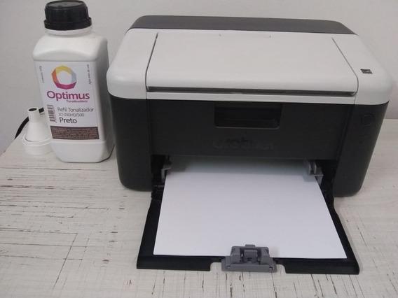 Impressora Laser Brother (semi Nova) + Brindes