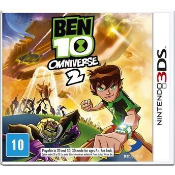 Ben 10 Omniverse 2 Para 3ds Mídia Física Lacrado Rcr Games