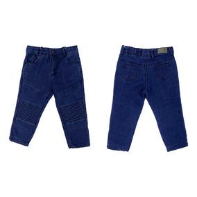 Pantalón Casual Para Niño Mezclilla 03847
