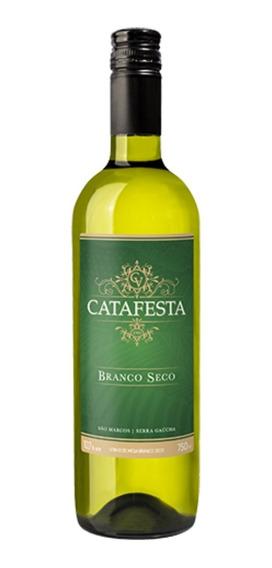 Vinho Branco De Mesa Seco Tradicional Catafesta 750ml