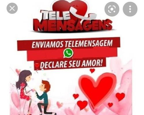 Imagem 1 de 3 de Disk Telemensagem Via Celular Para Todo Brasil