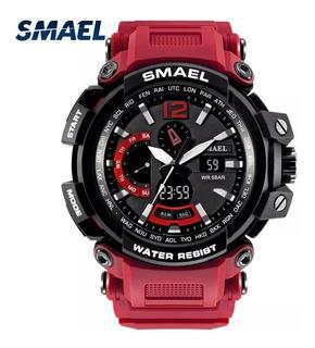 Reloj Deportivo Smael 1705, Estilo Militar, Tipo G Shock