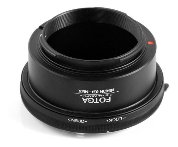 Adaptador Nikon G - Sony Nex Alfa Com Controle De Abertura