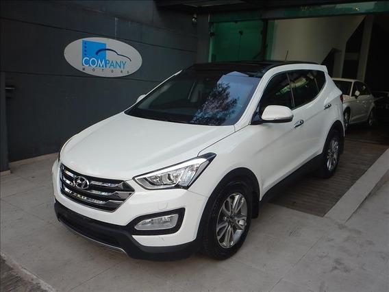 Hyundai Santa Fé Santa Fé Top 2015 Blindada 7 Lugares Branca