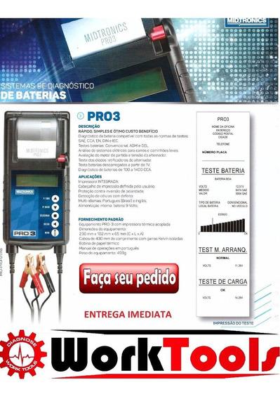 Teste De Bateria Midtronics Pro 3