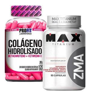 Colágeno Hidrolisado 120caps + Zma 90caps