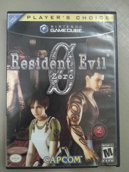 Resident Evil 0 Zero Nintendo Game Cube .