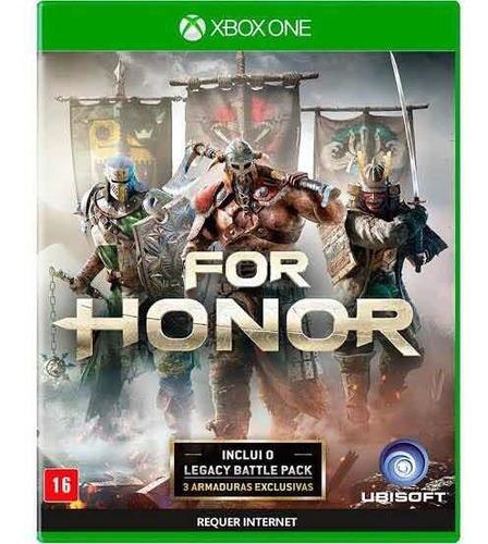 For Honor Xbox One Mídia Física Em Português Br + Dlc