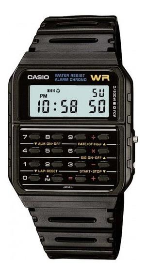 Relógio Casio Ca-53w-1z Masculino Preto - Refinado
