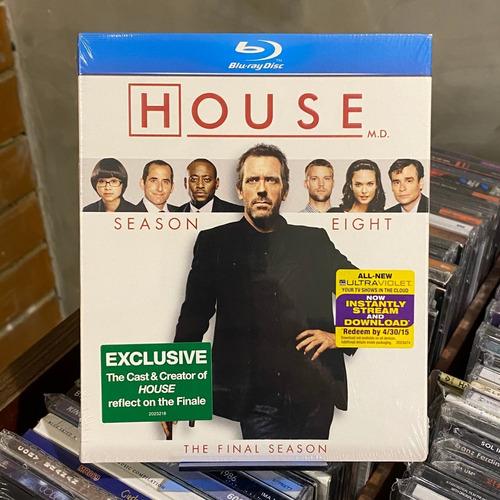 Bluray House Oitava Temporada Lacrado Importado