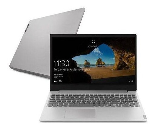 Notebook I5-8265u S145 Lenovo 15.6 8gb 1tb W10