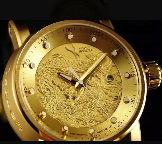 Relógio Invicta Yakuza Lançamento Imperdível Envio 24h