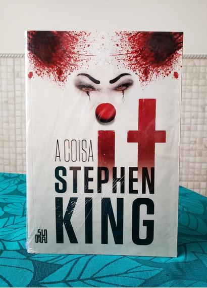 It A Coisa - Stephen King - Livro Físico Novo Lacrado