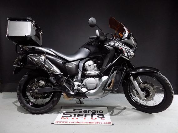 Honda Transalp700 Negra 2011