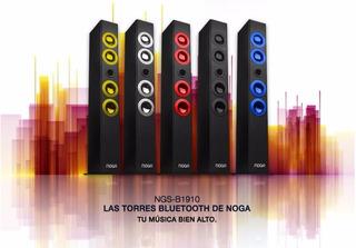 Parlante Torres Bluetooth 4 Tweeter 7cm 30w 1000 Mah 91cm