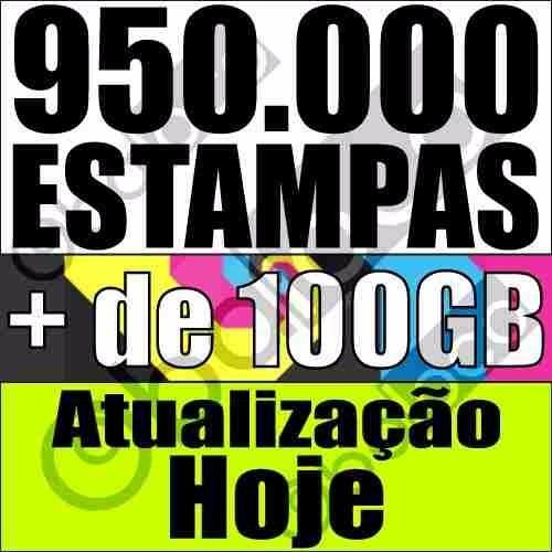 + De 100 Gigas - 950 Mil Estampas Artes Prontas Sublimação